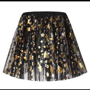 Dresses & Skirts - NEW Black/Gold Stars Elastic 3 Layer Adult Tutu